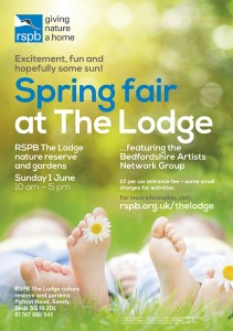 Lodge Spring Fair poster